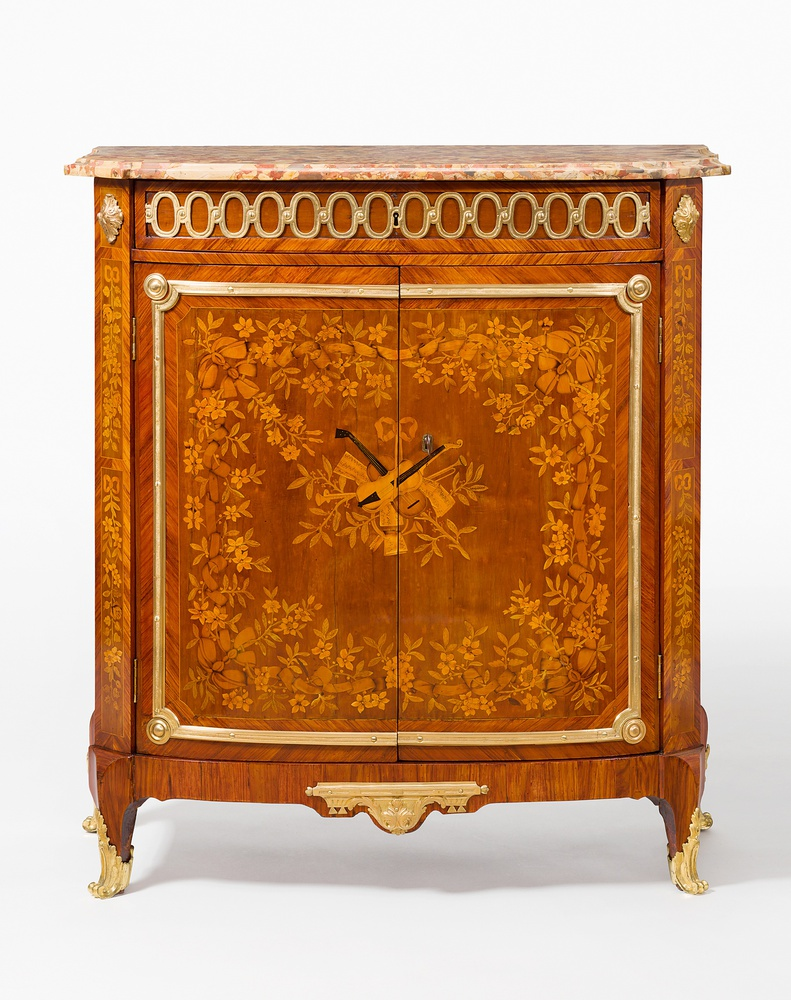 maurice bernard evald a louis xv transitional louis xvi meuble d appui by maurice bernard evald. Black Bedroom Furniture Sets. Home Design Ideas