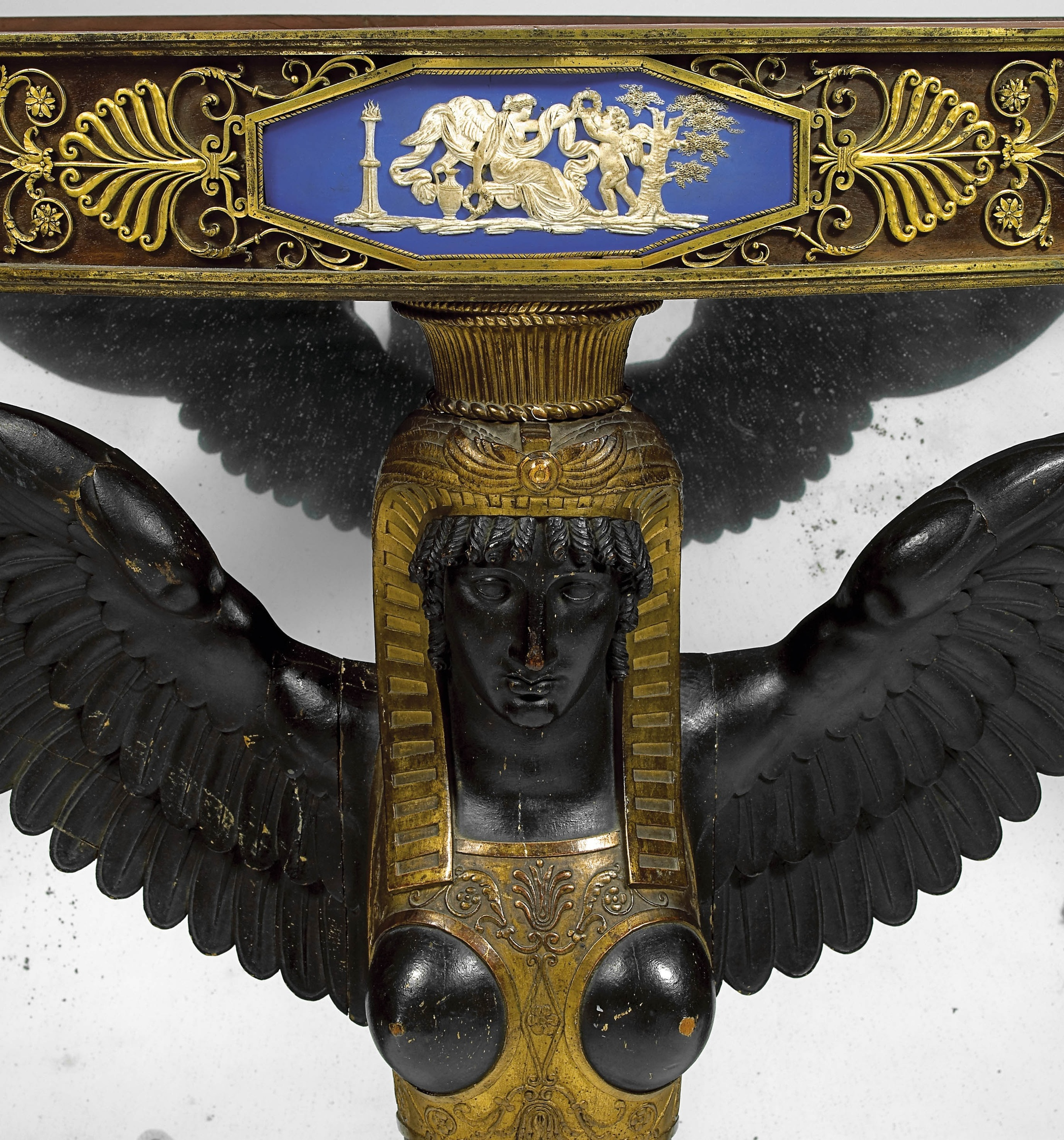 Eloi Lignereux attributed to An Empire console attributed to