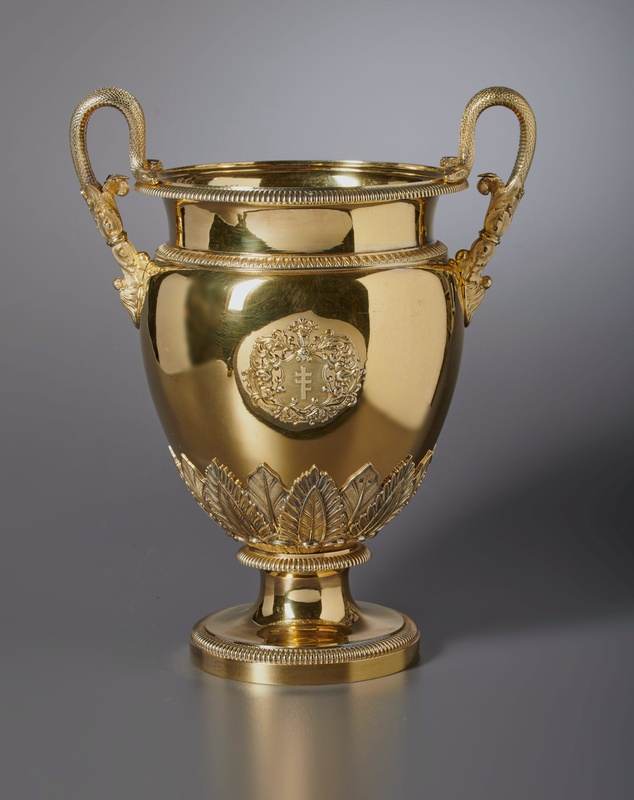 An Empire wine cooler by Jean-Baptiste-Claude Odiot, Paris, dated 1825