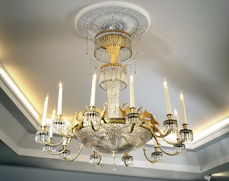 An Empire Baltic twelve-light chandelier, The Baltic States, date circa 1810-30