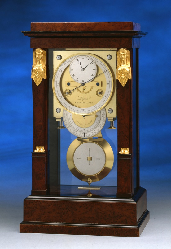 An Empire table regulator of month duration by Jean-Antoine Lepine, Paris, date circa 1820