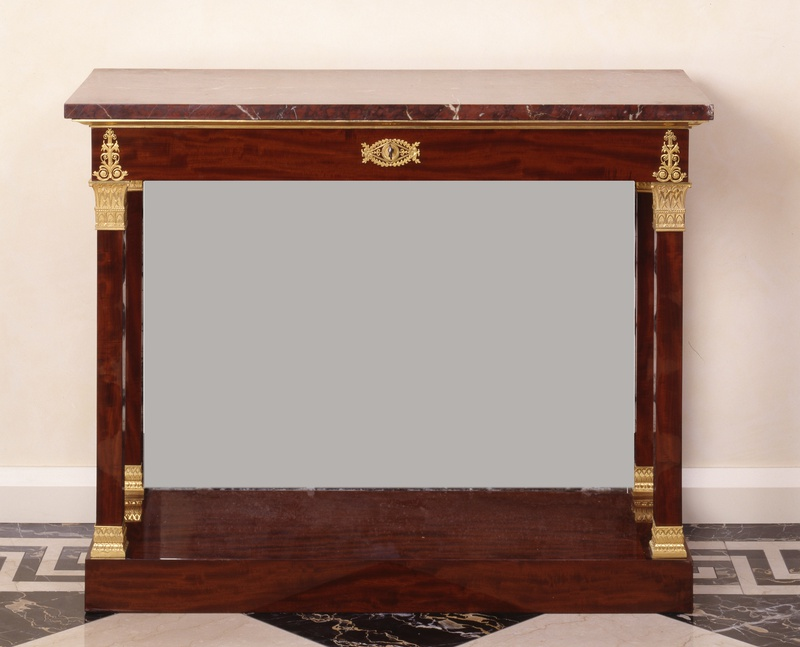 An Empire console table attributed to Jacob-Desmalter et Cie., Paris, date circa 1805