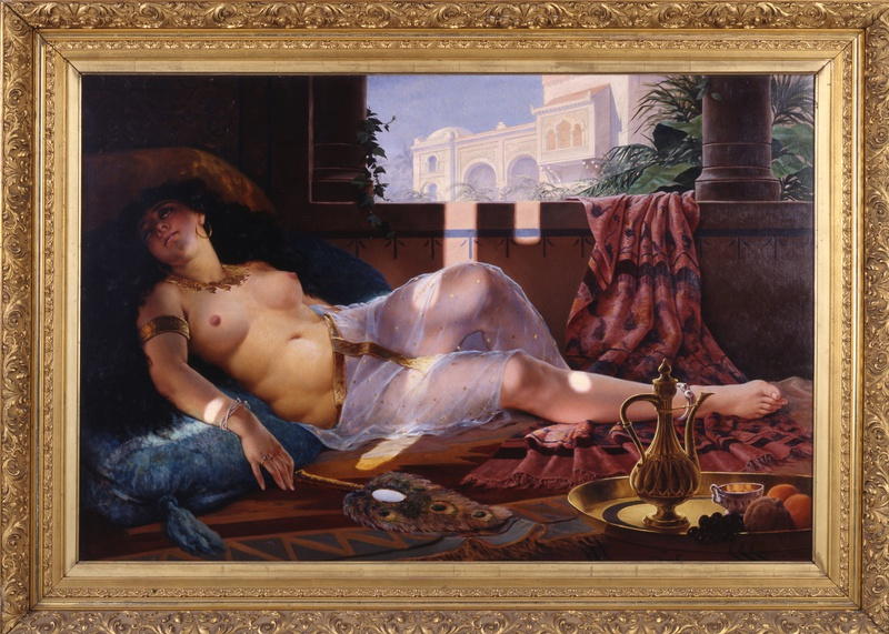 """Harem Beauty"", by Charles Henri Cordier"
