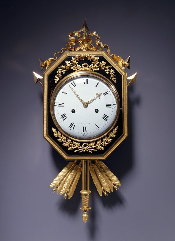 A Directoire cartel clock of eight day duration, by Manière, Paris, date circa 1795