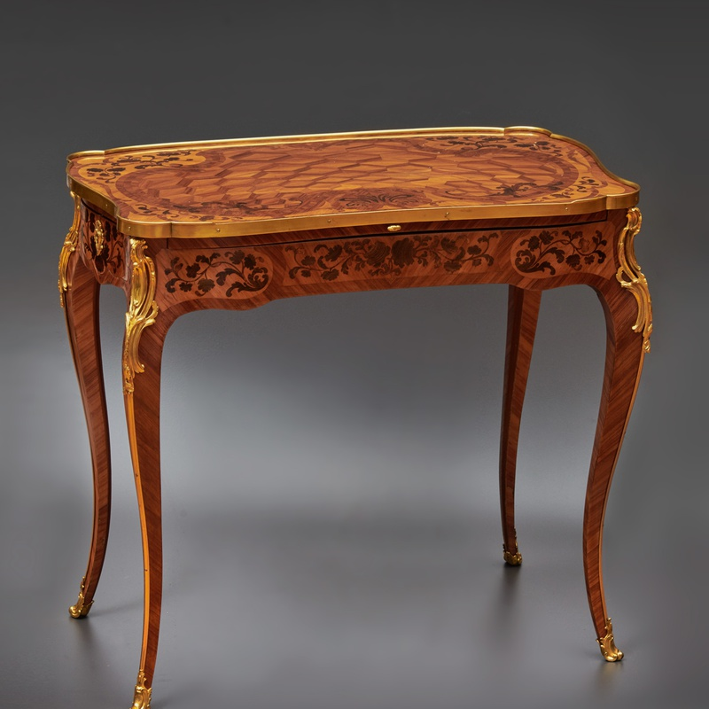 Pierre II Migeon - A Louis XV table à ecrire by Pierre II Migeon , Paris, date circa 1755