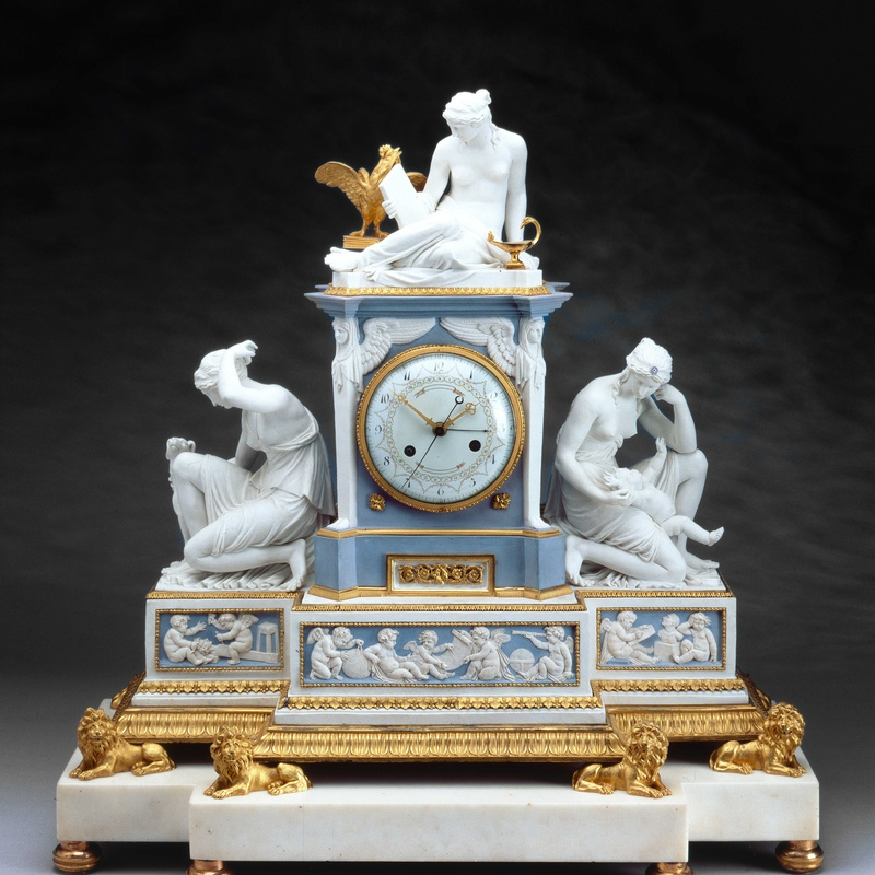 Robert Robin (attributed to) - A Louis XVI mantel clock attributed to Robert Robin