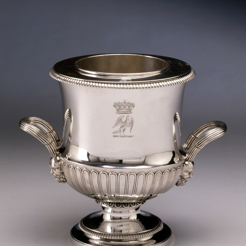 William Frisbee - A Regency wine cooler by William Frisbee, London, dated 1805