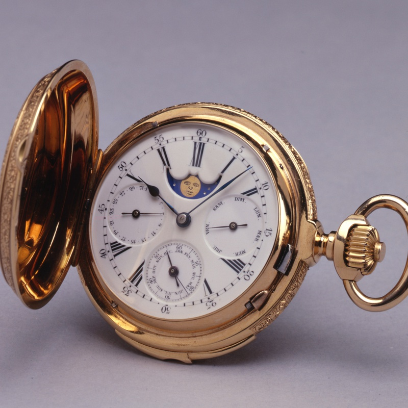Paul Jeannot - A Swiss astronomical and minute repeating Pocket watch by Paul Jeannot
