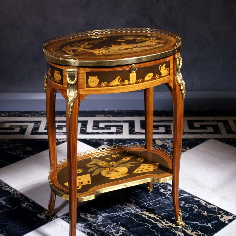 Charles Topino - A Louis XVI table à écrire by Charles Topino