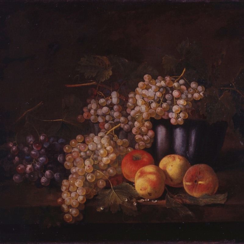 Samuel Jakob Beck (attributed) - A pair of German 18th Century still-lifes with fruit attributed to Samuel Jakob Beck