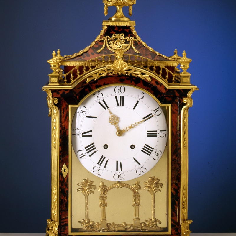 Pierre Jacquet-Droz (attributed to) - A Swiss musical pipe organ clock attributed to Pierre Jacquet Droz
