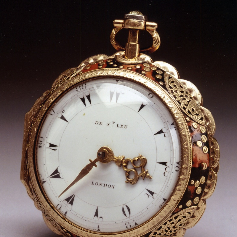 Daniel de St Leu - A George III gold pocket watch made for the Turkish export market, by Daniel de St Leu