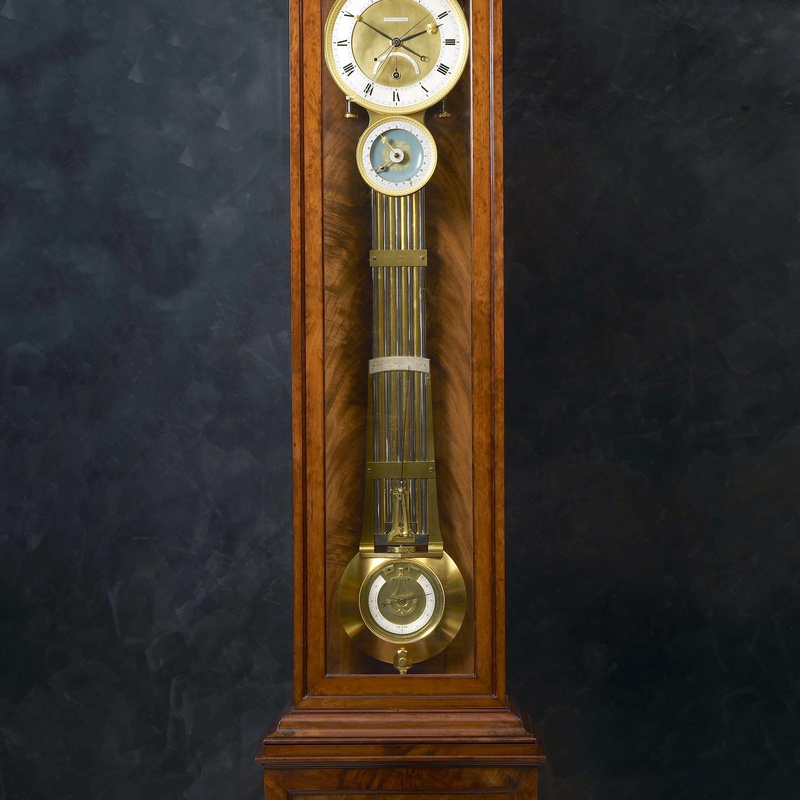 Claude-Armand Lory - A Restauration astronomical longcase regulator by Claude-Armand Lory