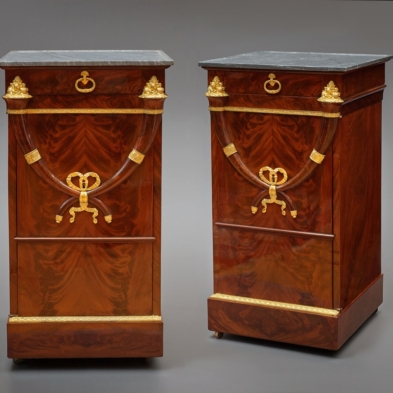 Jacob Frères (attributed to) - A pair of Directoire somnos attributed to Jacob Frérès