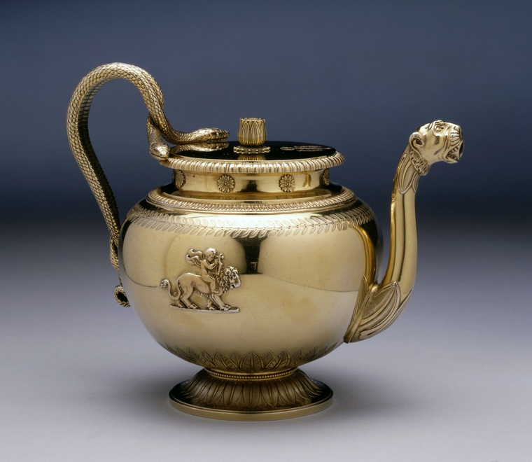 An Empire teapot from the Demidoff Service by Jean-Baptiste-Claude Odiot