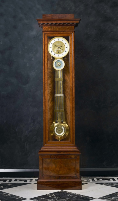 A Restauration astronomical longcase regulator by Claude-Armand Lory