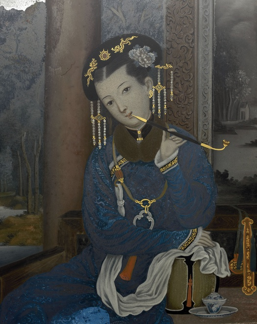 A late Qianlong period painting