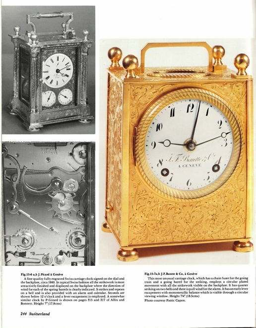 A Swiss Grande Sonnerie carriage clock